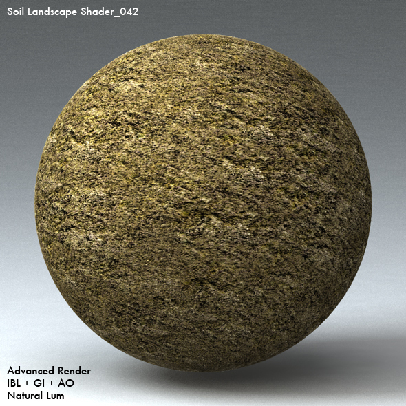Soil Landscape Shader_042 - 3DOcean Item for Sale