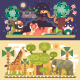 Desert and Jungle African Animals - GraphicRiver Item for Sale