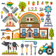 Agricultural Pictures Set - GraphicRiver Item for Sale