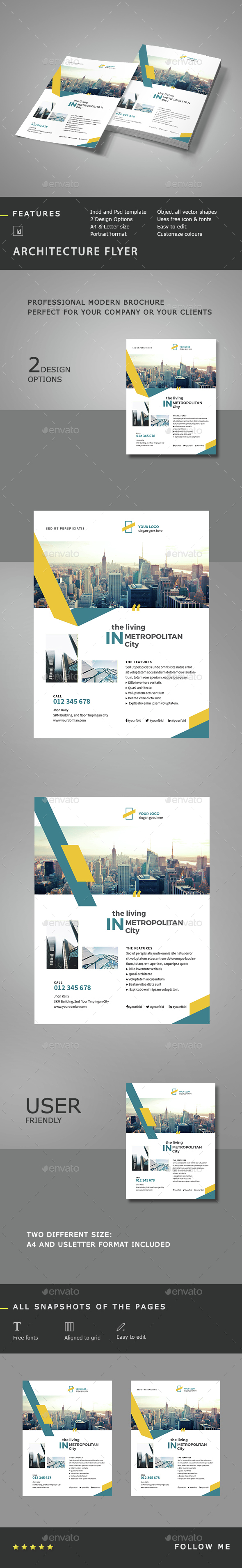 Architecture Flyer Template - Corporate Flyers