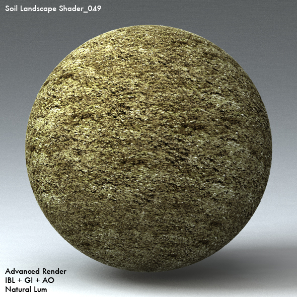 Soil Landscape Shader_049 - 3DOcean Item for Sale