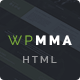 WP MMA - Gym & Fitness HTML Template Nulled