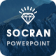 SOCRAN - Clean & Modern Powerpoint Template - GraphicRiver Item for Sale