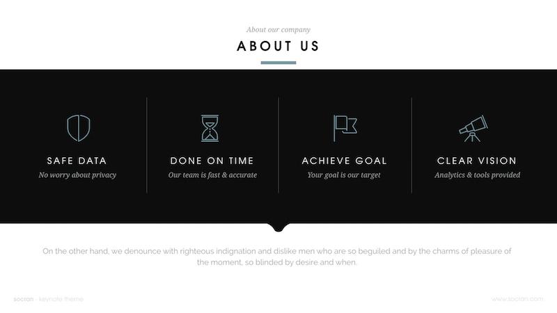 socran - clean & modern powerpoint templateslidehack, Presentation templates