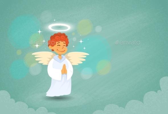 Valentine's Angel Cupid Saint Valentine - Valentines Seasons/Holidays