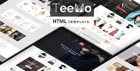 Teemo - Multipurpose Bootstrap eCommerce Template