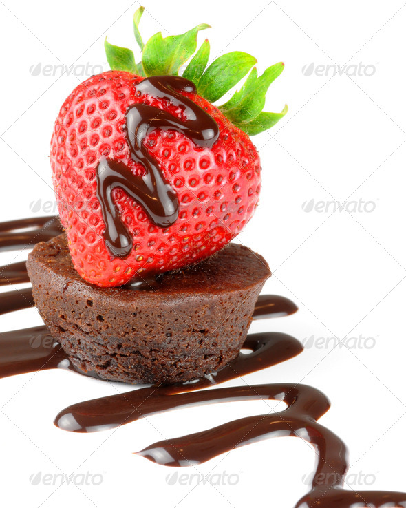 Fruit and Chocolate - Stock Photo - Images
