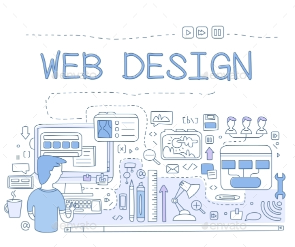 Design Web Design Graphics - Web Technology