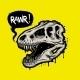 Illustration of Dinosaur Skull - GraphicRiver Item for Sale