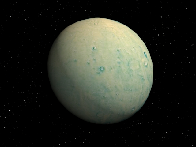 Planet Pluto - 3DOcean Item for Sale