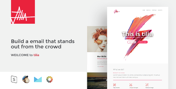 tilia - Responsive Email Template - Email Templates Marketing