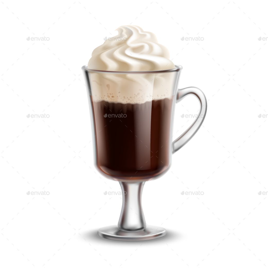 Irish Coffee by Mia_V | GraphicRiver
