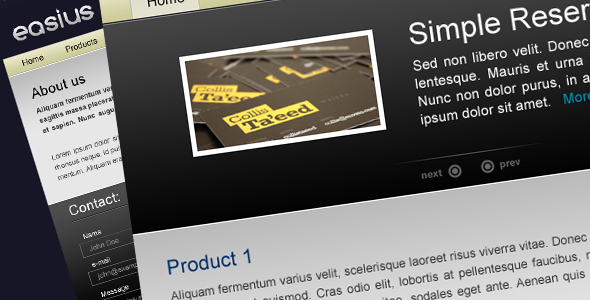 Free Download Easius | Products Showcase Nulled Latest Version