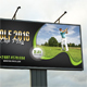 Golf Event Outdoor Banner 03