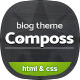 Composs - Elegant Blog, Magazine & News HTML Template - ThemeForest Item for Sale