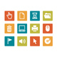 Icon set - vibrant square - Computer - GraphicRiver Item for Sale