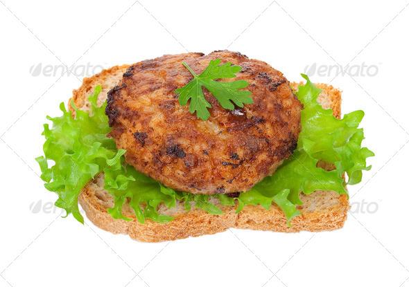 Tasty burger - Stock Photo - Images