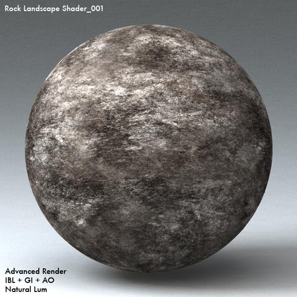 Rock Landscape Shader_001 - 3DOcean Item for Sale