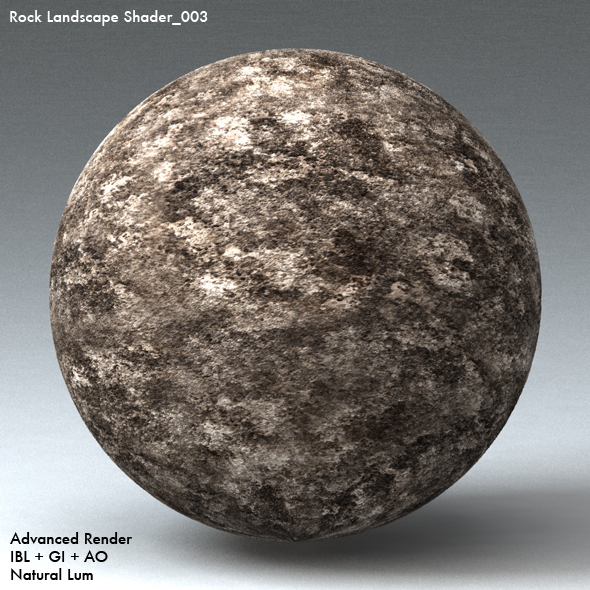 Rock Landscape Shader_003 - 3DOcean Item for Sale