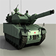Turkish Main Battle Tank Altay - 3DOcean Item for Sale