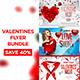 Valentines Flyer Bundle - GraphicRiver Item for Sale