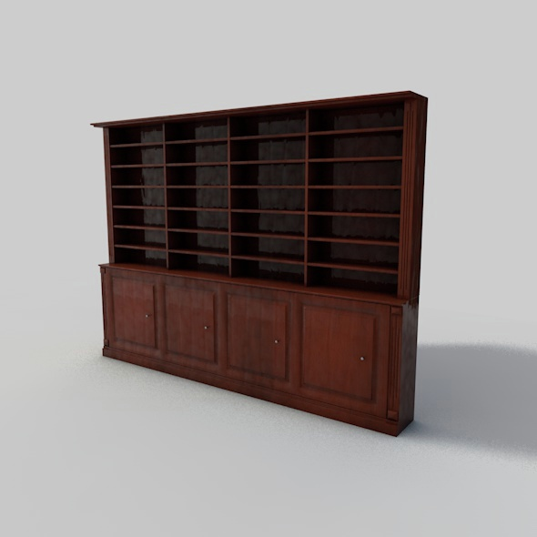 Editable Wall Unit - 3DOcean Item for Sale