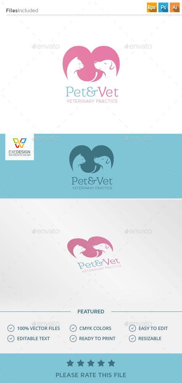 Pet Logo - Animals Logo Templates