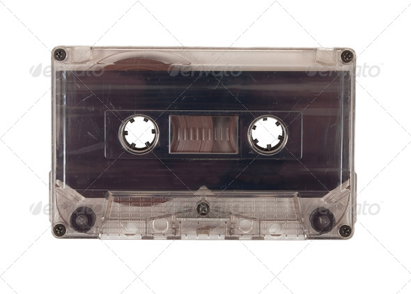 Audio cassette - Stock Photo - Images