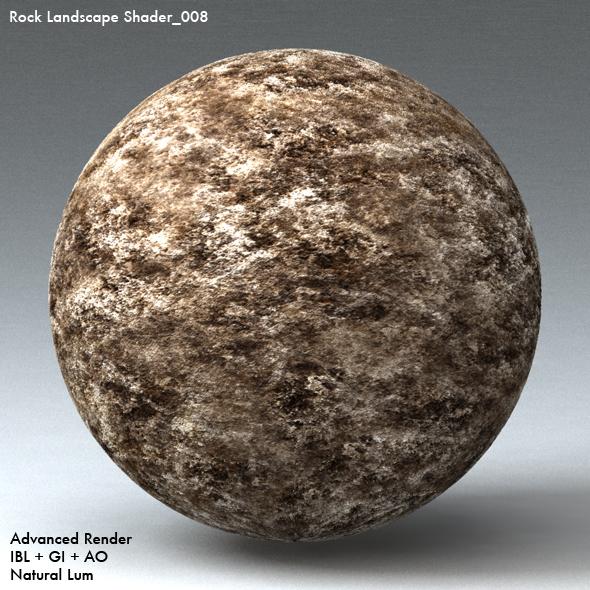 Rock Landscape Shader_008 - 3DOcean Item for Sale