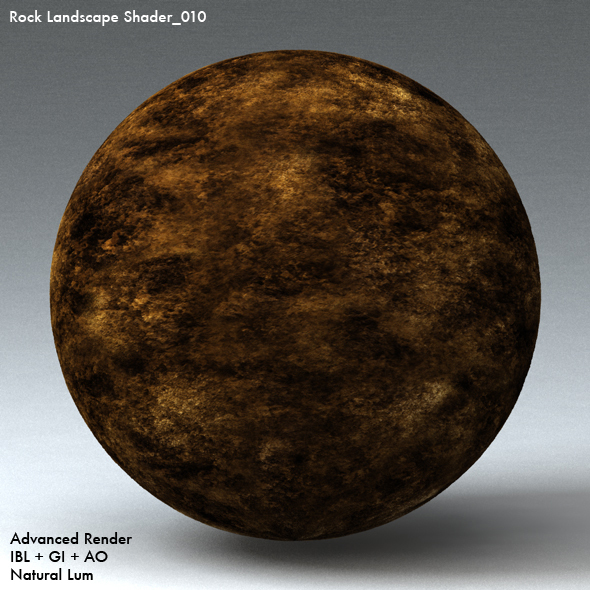 Rock Landscape Shader_010 - 3DOcean Item for Sale