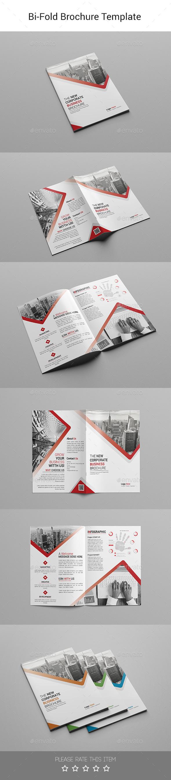 Corporate Bi-fold Brochure-Multipurpose 04 - Corporate Brochures