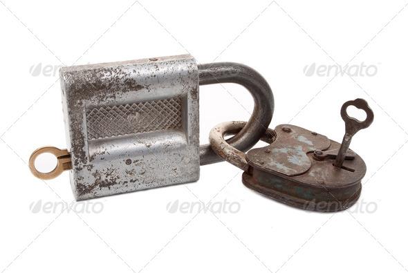 Locks and keys - Stock Photo - Images