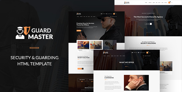 GUARD MASTER – HTML Responsive Multi-Purpose Template