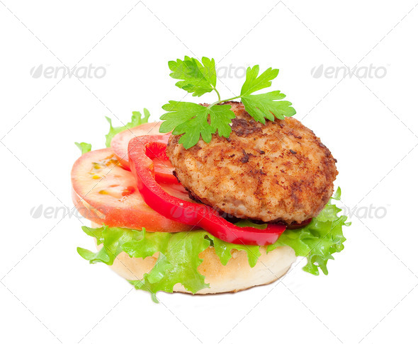 Tasty burger - Stock Photo - Images