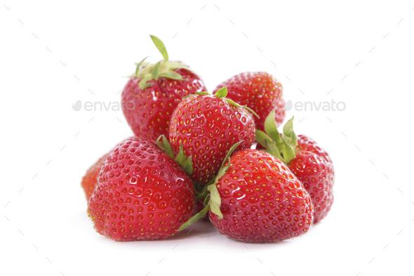 Organic Strawberry - Stock Photo - Images