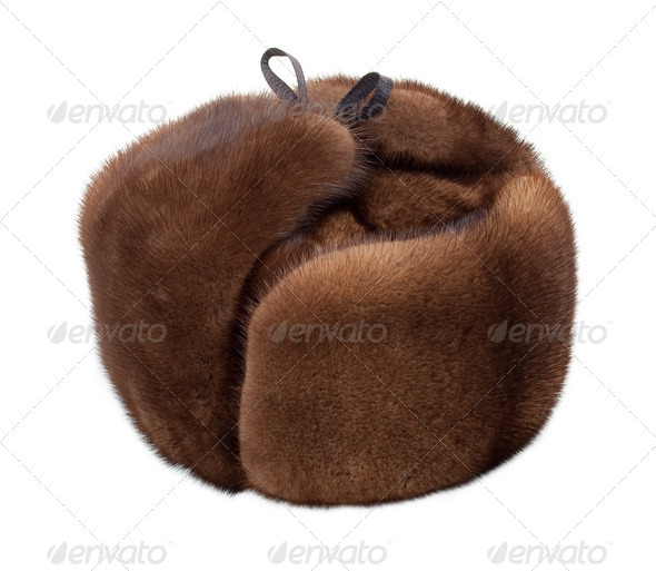 Mink hat - Stock Photo - Images