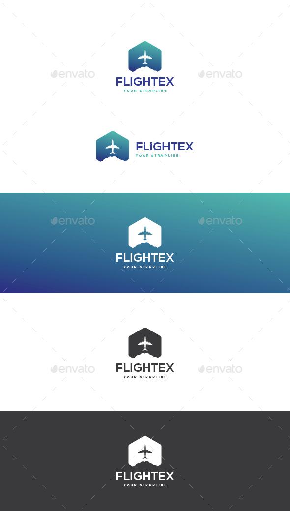 Flightex Logo - Symbols Logo Templates