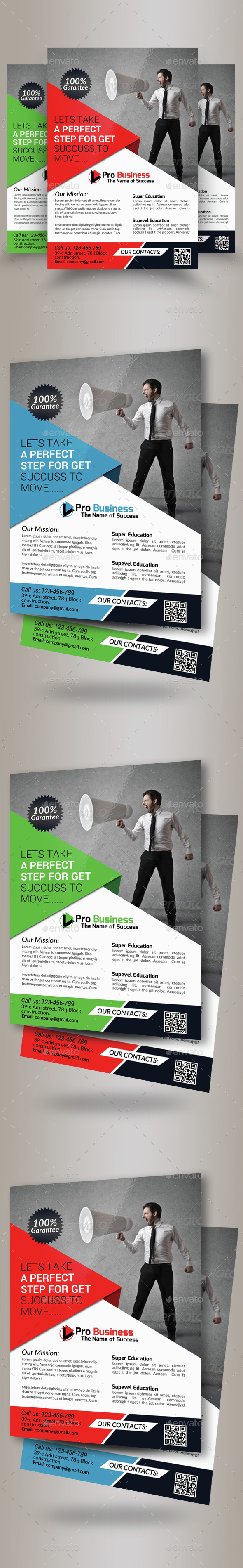 Advertisment Company Flyer Template - Corporate Flyers