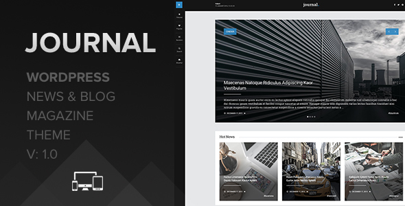 Journal – WordPress News and Blog Magazine
