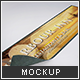 Bar Runner Mock-up - GraphicRiver Item for Sale
