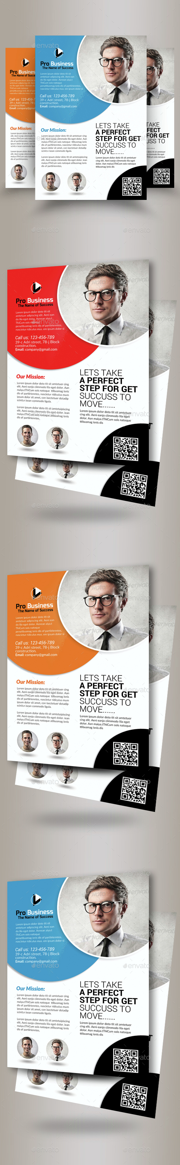 Public Relations Company Flyer Template - Corporate Flyers