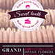 Sweet Tooth Bakery Flyer Template - GraphicRiver Item for Sale