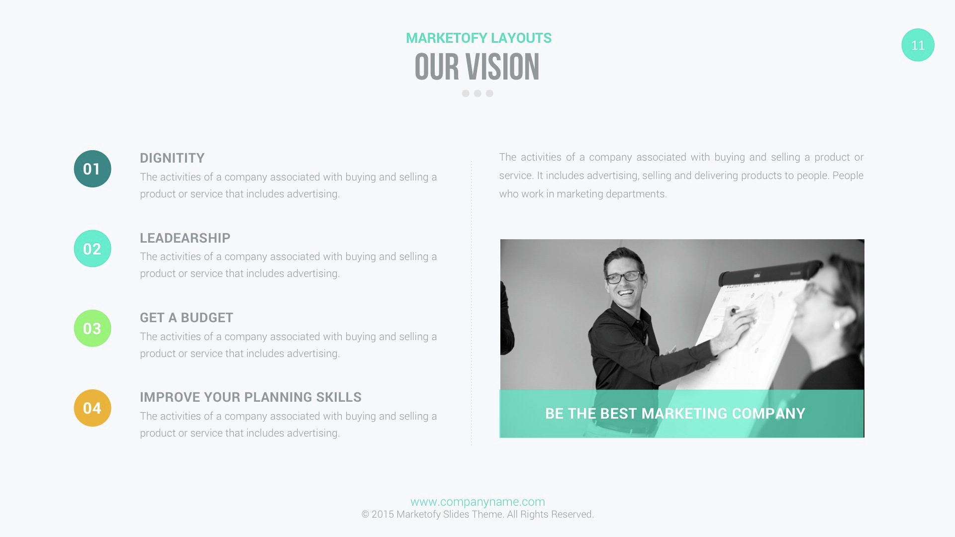 Marketofy - Ultimate PowerPoint Template by slidefusion | GraphicRiver