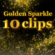 Golden Sparkle Element Pack - VideoHive Item for Sale