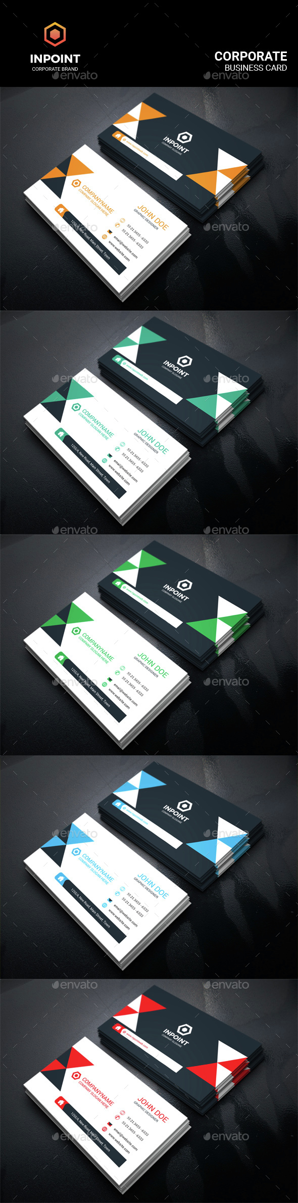 Inpoint_Corporate Business Card - Corporate Business Cards