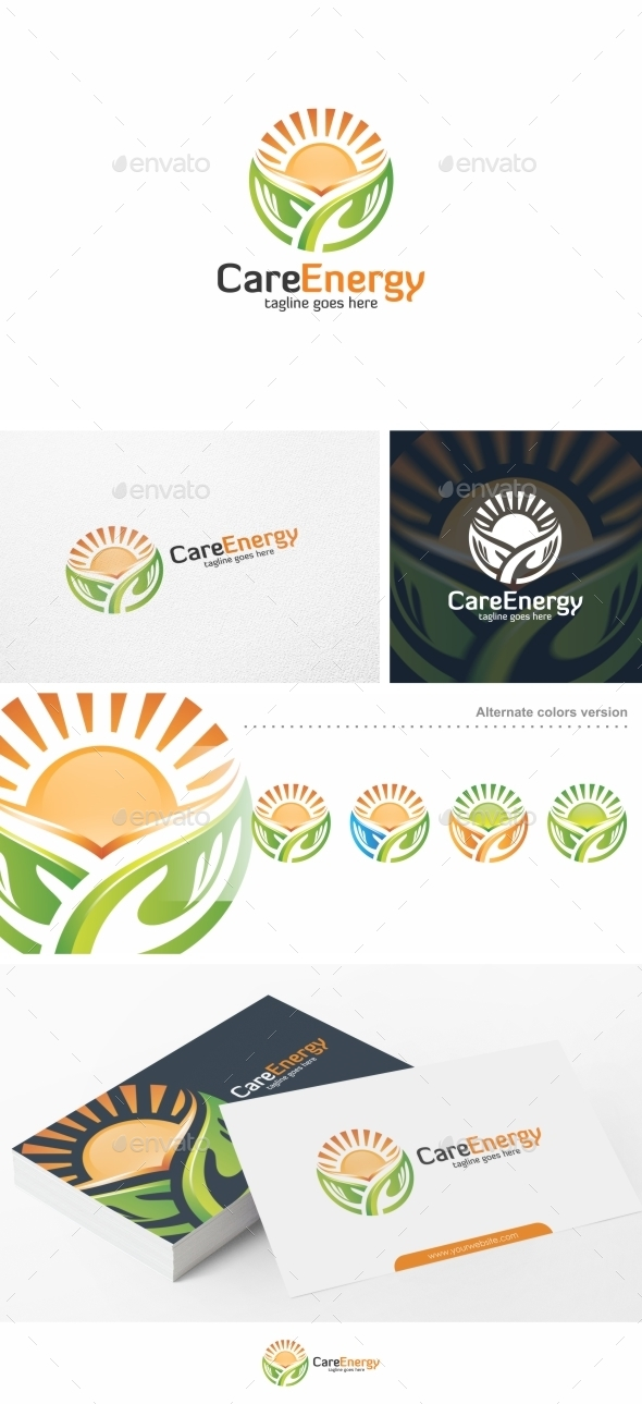 Care Energy - Logo Template - Nature Logo Templates