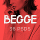 Begge - Modern Fashion Shop PSD Template Nulled