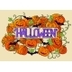 Halloween Abstract Illustration Invitation Card - GraphicRiver Item for Sale
