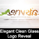 Elegant Clean Glass Logo Reveal - VideoHive Item for Sale