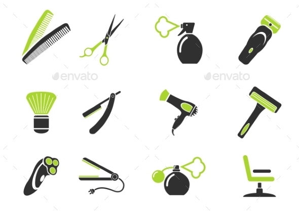 Barbershop Simply Icons - Icons